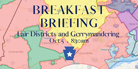 Breakfast Briefing - Fair districts and Gerrymandering tickets