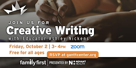 Family First: Creative Writing Workshop tickets