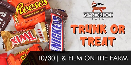 Trunk or Treat & Film on The Farm tickets