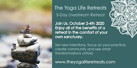 3-day Livestream Yoga Retreat tickets