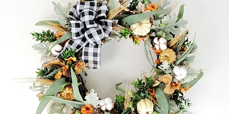 Design Your Own Fall Wreath with a Master Designer tickets