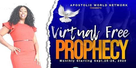 Free Virtual Prophecy Zoom Saturday @11AM tickets
