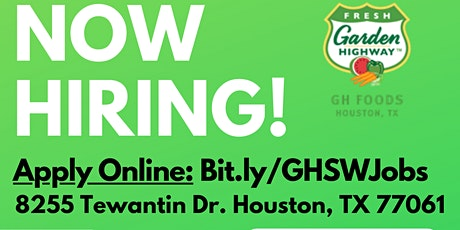 Job Fair - Houston,TX - Hiring on the Spot! 09/30/20 tickets