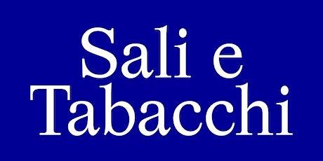 Sali & Tabacchi Journal RIV.01 Launch biglietti