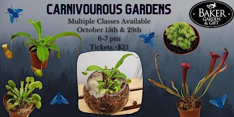 Carnivorous Garden tickets