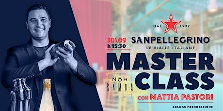 30.09   San Pellegrino ~ Master Class con Mattia Pastori tickets