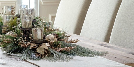 Design Your Own Christmas Centerpiece with a Master Designer tickets
