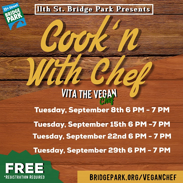 Cooking with Vita the Vegan Chef image