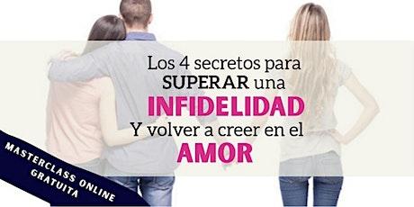 Los 4 secretos para  SUPERAR una INFIDELIDAD y volver a creer en el amor entradas