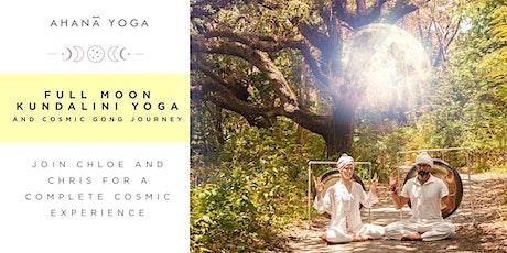 Full Moon Kundalini Yoga and Cosmic Gong Journey tickets