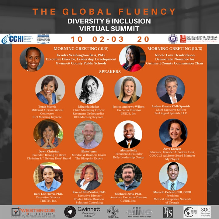 The 2020 Global Fluency Virtual Diversity and Inclusion Summit image