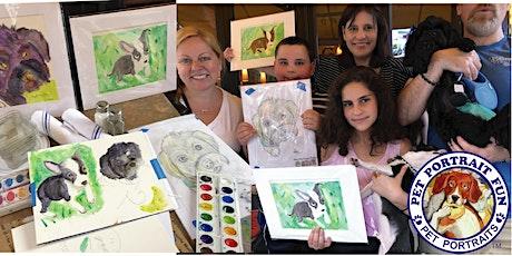 Family Paint Party- Pet Portrait Fun Online tickets