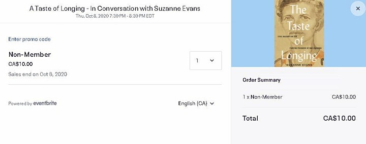 The Taste of Longing - In Conversation with Suzanne Evans image