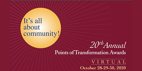 20th Annual Points of Transformation Awards tickets