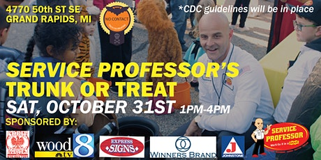 Service Professor TRUNK OR TREAT tickets
