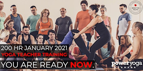 200 Hour Online Yoga Teacher Training with Power Yoga Canada (January 2021) tickets