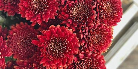 Fall Mums: Floral Design Class tickets