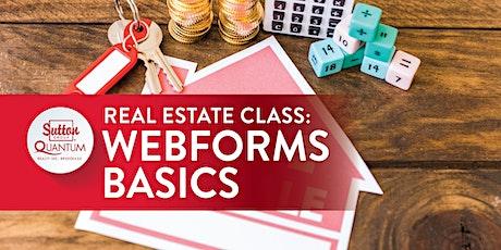 "VIRTUAL: ""Webforms: Basics"" with Raymond tickets"