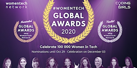 WomenTech Global Awards 2020 tickets