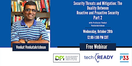 Security Threats and Mitigation Part Two tickets