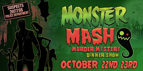 Monster Mash Murder Mystery Dinner Show tickets