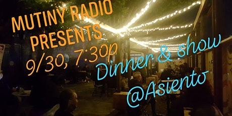 Dinner and a show at Asiento tickets