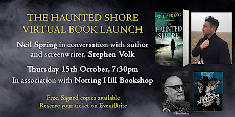 The Haunted Shore - Virtual Book Launch: with Neil Spring and Stephen Volk tickets