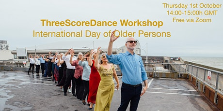 Three Score Dance: Free workshop for International Day of Older Persons tickets