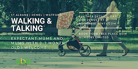 Walking and Talking group for pregnant women and new  mum's with baby's tickets