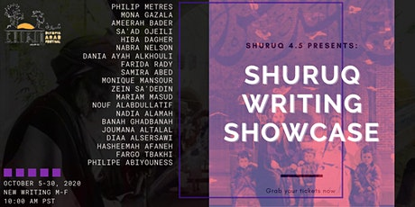 Shuruq 4.5 Writers' Showcase Presents: Live Reading Series (2 of 2) tickets
