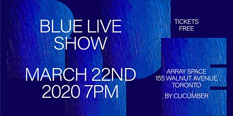 BLUE - Live Concert by Denim Blù tickets