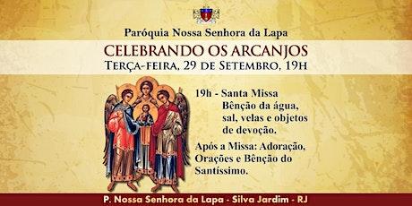 CELEBRANDO OS ARCANJOS - 29/09 - Terça-feira - 19h ingressos