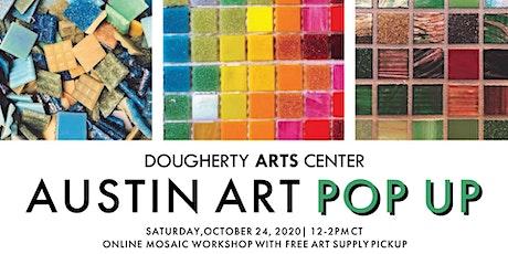 Austin Art Pop Up: Mosaic Workshop with Ruiz Library and J Muzacz tickets