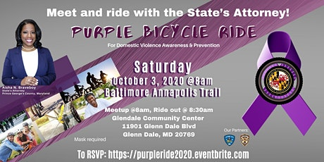 Purple Bicycle Ride for Domestic Violence Awareness & Prevention tickets