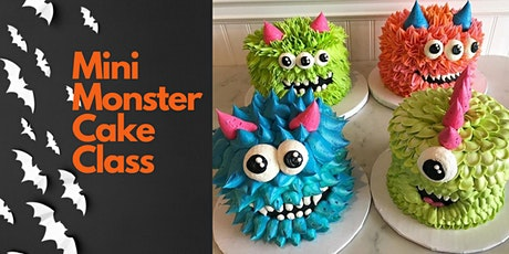 Mini Monster Cake Class tickets