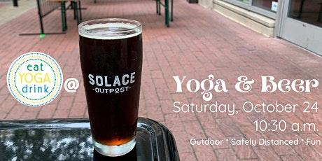 Yoga & Beer at Solace Outpost tickets