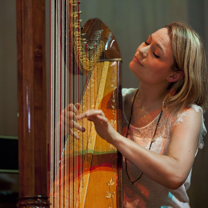 On Wing & Water – Effervescent harp with Eleanor Turner @ Stockwell Live! image