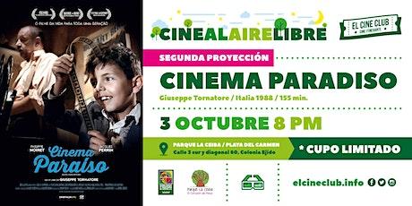 Copia de Cinema Paradiso / Segunda Proyección / Cine al Aire Libre entradas