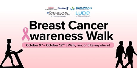 E3S Virtual Breast Cancer Awareness Walk tickets