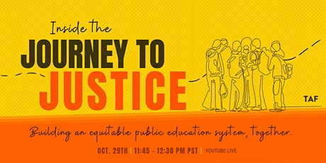 TAF Documentary Live Screening: Inside the Journey to Justice tickets