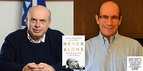 P&P Live! Natan Sharansky and Gil Troy | NEVER ALONE tickets