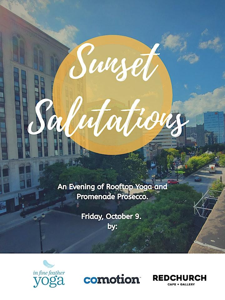 Sunset Salutations image