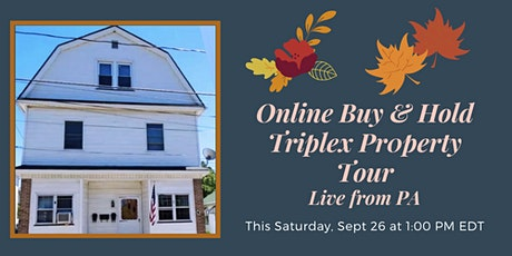 Online Buy & Hold Property Showcase tickets