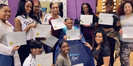 "Body & Business  Virtual Spa Tour ""Secure The Bag"" equipment included tickets"