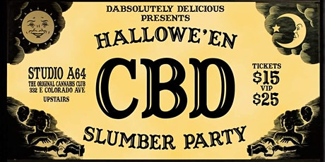 Dabsolutely Delicious Halloween Slumber Party tickets