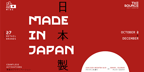 Grand Opening of Made in Japan x Temaki Den tickets