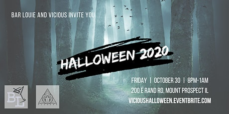 Bar Louie x Vicious Halloween 2020 tickets