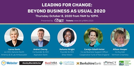 Leading for Change: Beyond Business as Usual tickets