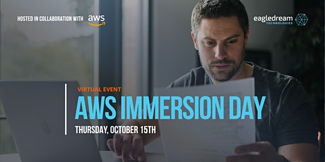 AWS Immersion Day: Cloud Adoption for Financial Services tickets