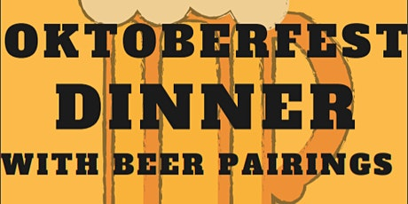 Oktoberfest Dinner & Beer Pairing tickets